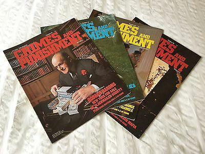 4 X Crimes And Punishment Magazine Issues 47,48,49 And 50