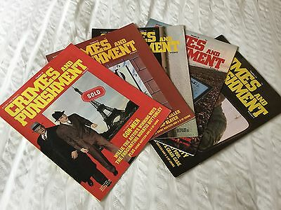 Crimes and Punishment  Magazine Issues Nos 20,21,22,23 And 24