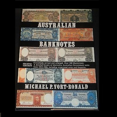 Australian Banknotes  Michael Vort-Ronald 2nd Revised Ed - Pristine Signed Copy