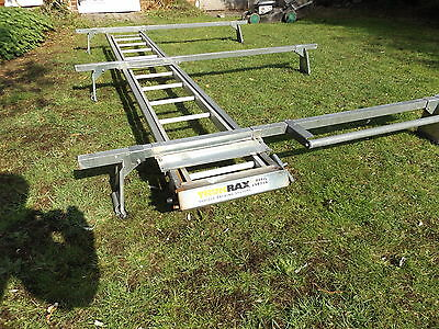 Mk7 Ford Transit Trukrax Med Roof Mwb Roof Rack And Ladder