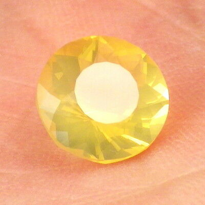 FIRE OPAL-OREGON 1.73Ct CLARITY VS1-NATURAL YELLOW GOLD COLOR-FOR JEWELRY