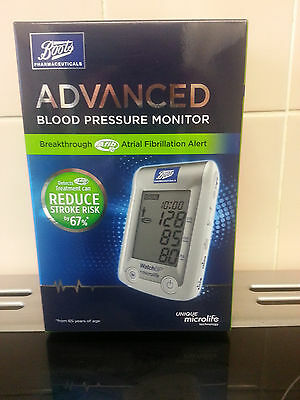new boots advanced blood pressure monitor 100% genuine