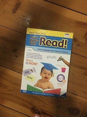 Your Baby Can Read Kit By Robert Titzer, Ph. D