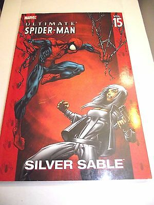 Ultimate Spider-Man Vol. 15 Silver Sable TPB VG (Price Tag on back)