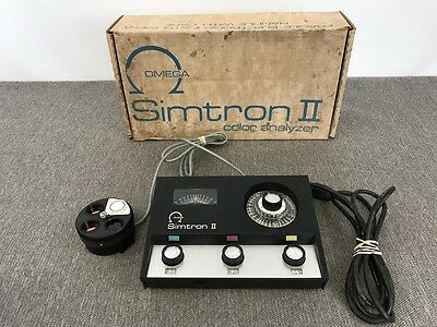 Omega Simtron II Color Analyzer | Tested & Working