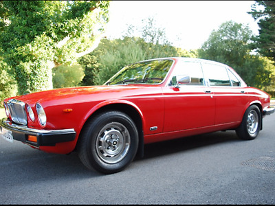 Jaguar Xj6 3.4, Red, With Cream Leather, In Lovely Condition.