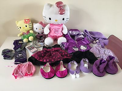 Hello Kitty Boutique Large Bundle, Plushes, Outfits, Purse, Play Phone etc.