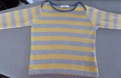 Baby Boden Boys long sleeved  T-Shirt Age 6 - 12 Months