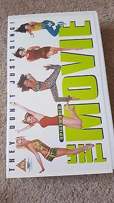 Spice Girls - Spiceworld: The Movie VHS - Lime Green Tape - RARE OUT of Print