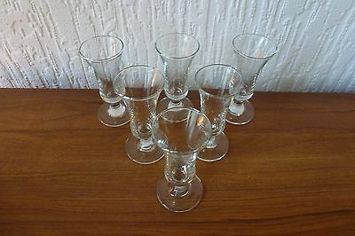 Set Of 6 Liqueur Glasses