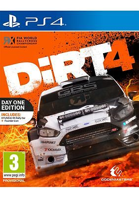 DiRT 4 - Day One Edition (PS4) PlayStation 4