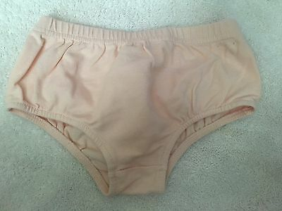 girls 6-9 months bloomers diaper cover dressy pink