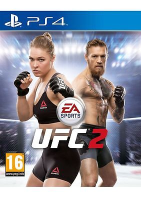 EA Sports UFC 2 (PS4) Playstation 4 New & sealed