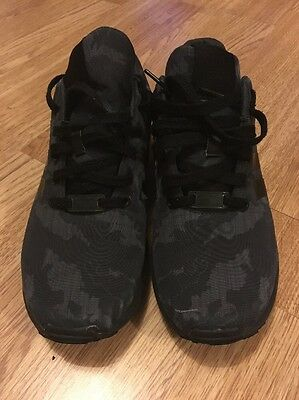 Mens adidas zx flux Black Camouflage Size 8