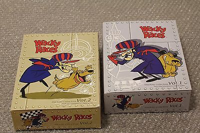 Kensin Wacky Races Machine Collection 1&2 complete set hannna barbera
