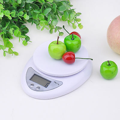 Digital Kitchen Scale 1-5000 g Diet Food Compact Kitchen Scale 0.1 - 176 oz HOT