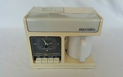 Swan retro vintage compact teasmade. Tested and fully working. Model 10883