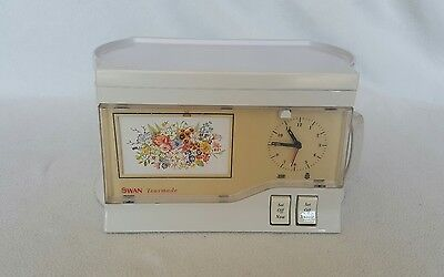 Swan retro vintage teasmade model D01-1. Tested and fully working