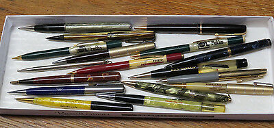 Vintage Mechanical Pencils & Ball Point Pen