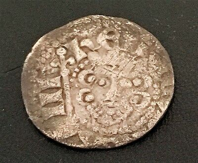 Henry III Long Cross Hammered Silver Penny : Class 5 (1251 - 1272)