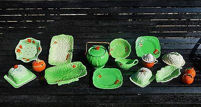 Bulk lot of Beswick & Crown Derby pottery Pieces- 15 pieces of Green ware