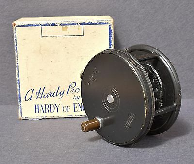 """Hardy  Perfect   4""""   RHW   Fly  Reel"""