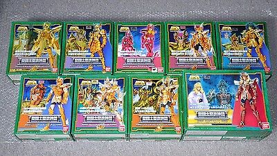 Saint Seiya - Poseidon Scale Complete Collection - 9 Myth Cloth lot set