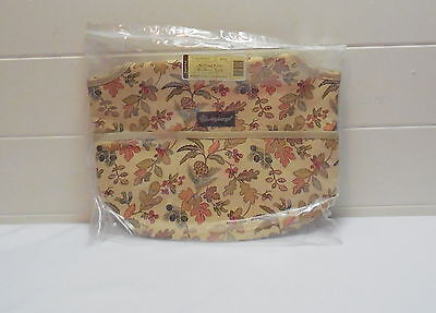 Longaberger Autumn Path Booking Tote Fabric New In Plastic
