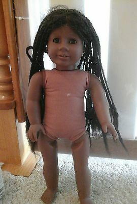 Pleasant Company  American Girl Doll Addy Parts Or Repairs Tlc