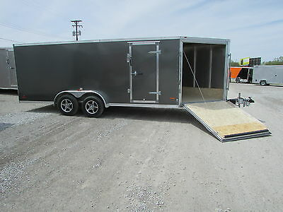 New Rc 7 X 23 Aluminum Enclosed Trailer *closeout Deal 1 Only* Dr Trailer Sales