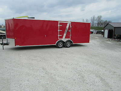 New 24' Enclosed Carhauler Trailer *finished Interior* On Sale Now * Dr Trailer