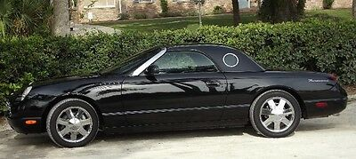 """2002 Ford Thunderbird Convertible 2002 Ford Thunderbird Roadster Convertible 'ONE OWNER"""""""