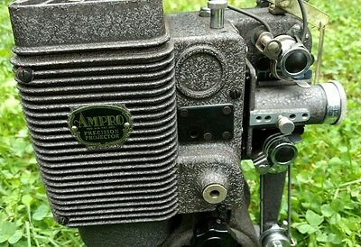 Vintage Ampro Silent Movie Projector from 1930s