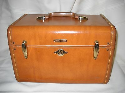 Vintage Bown Samsonite Makeup Train Case 4612 (8591)