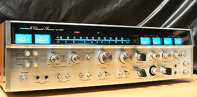 "Pioneer Qx 9900 Vintage  "" Monster "" Quadriphonic Receiver"