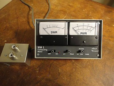 Autek Research WM-1 HF HAM RF Power SWR Meter Excellent Condition