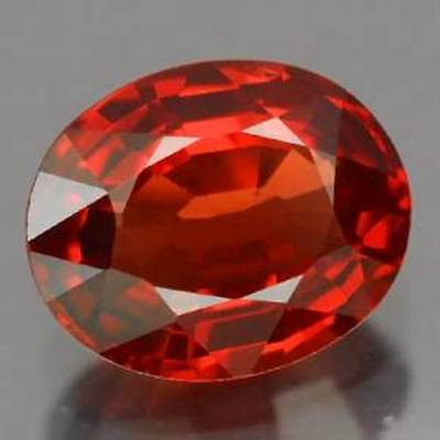 SPESSARTINE GARNET - 2.11 CT.,  Brilliant,Fiery, 100 % Natural - 8.7 x 6.1 mm