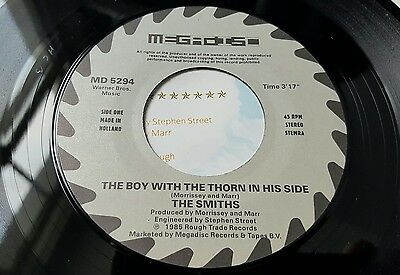 "The Smiths Boy with the Thorn Dutch Megadisc 7"" Pic Sleeve, Rare"