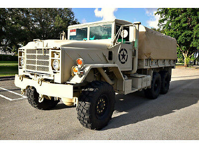 M923A1 5 Ton 6X6 AM GENERAL CARGO/TROOP CARRIER