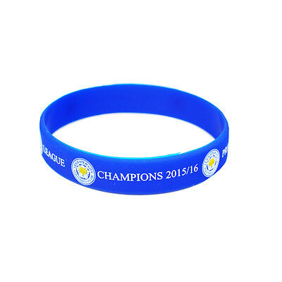 Leicester City FC Football Club Silicone Wristband