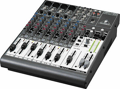 Behringer Xenyx 1204   Mixer  Mischpult  Amplificateur Preamp int. shipping