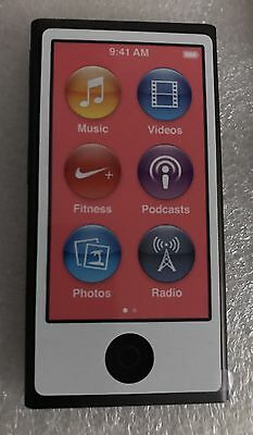 Apple iPod nano 7. Generation Spacegrau (16GB) (aktuellstes Modell)