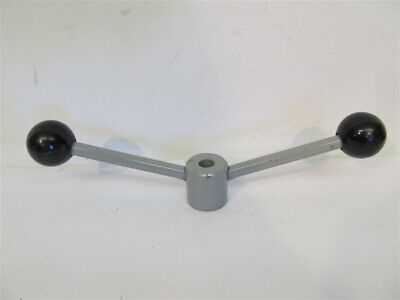 "Feed Lever - 2 Ball Ends - 3/4"" Hex x 1/2"" Bore - 12"" Spread"