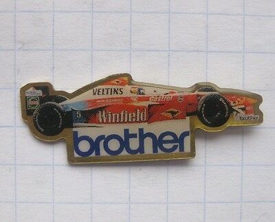 VELTINS / FORMEL 1 / BROTHER / WINFIELD  .................Bier-Pin (109e)