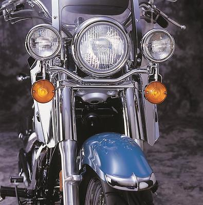 National Cycle N945 Spotlight Bar, Steel, Chrome, Kawasaki, Motorcycle, Kit