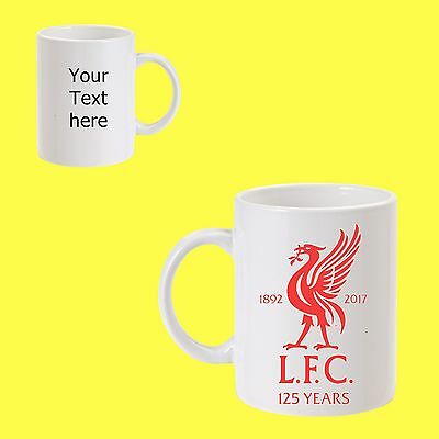 Liverpool football 11oz coffee/tea  mug personalised gift