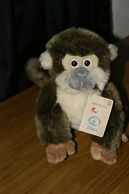 Gorgeous Sweethearts Nature Planet Monkey Plush Toy Complete With Tags