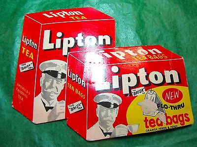Lipton Tea Bags Sewing Needle Kit Bi-Fold Advertising West Germany