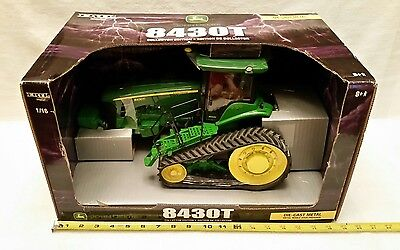 Ertl John Deere 8430T Tractor 1/16 Scale Thunderous Power Collector Edition