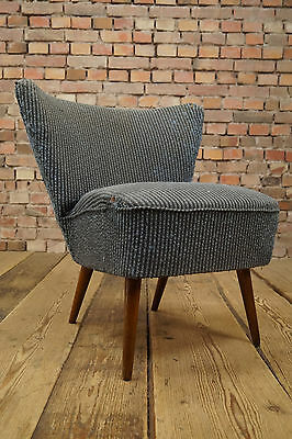 50er Rockabilly COCKTAIL SESSEL CLUB LOUNGE CHAIR VINTAGE Mid-Century STILNOVO 5